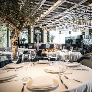 Una foto del restaurante Villa Azur- México