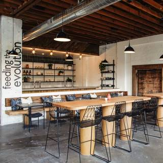 A photo of The Plot restaurant