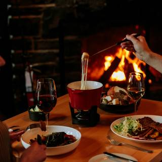 A photo of Waldhaus Restaurant - Fairmont Banff Springs Hotel restaurant