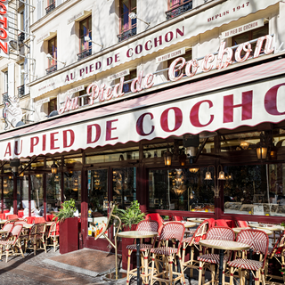 A photo of Au Pied de cochon restaurant