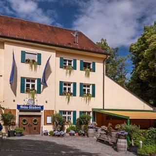 Una foto del restaurante Bräustüberl Weihenstephan