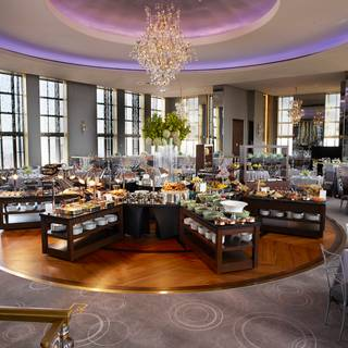 A photo of Holiday Brunch at the Rainbow Room restaurant