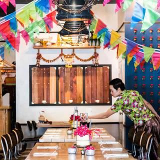 A photo of Farmhouse Kitchen Thai Cuisine restaurant