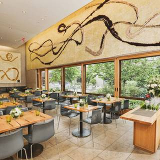 A photo of Garden Restaurant at The Barnes Foundation restaurant