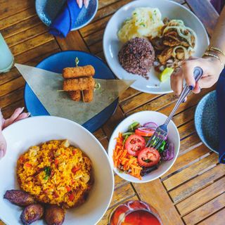 A photo of Padrino's Cuban Cuisine - Dania Beach restaurant
