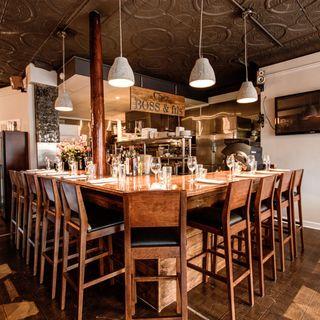 A photo of Chez BOSS + Fils restaurant