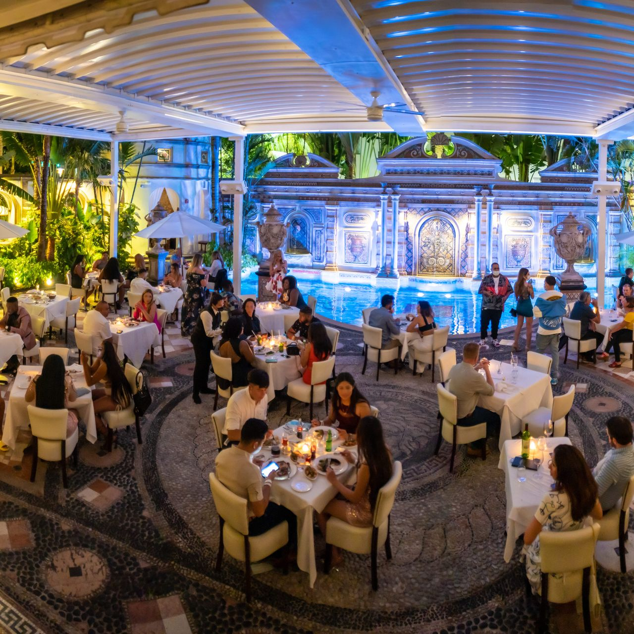 Gianni S At The Former Versace Mansion Restaurant Miami Beach Fl Opentable