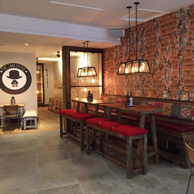 Best Northern Quarter restaurants - Crafty Pig Manchester